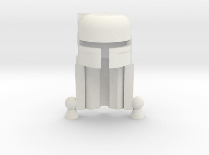 Boba Helmet 3d printed Frosted Ultra Detail