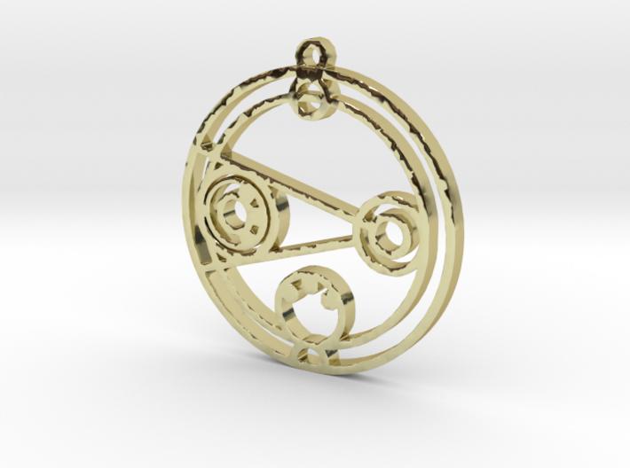 Danielle - Necklace 3d printed