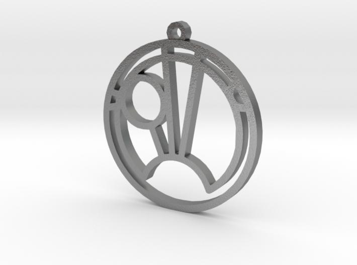 Sam - Necklace 3d printed