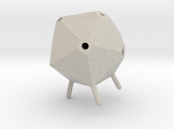 Icosahedron Pen Holder 3d printed