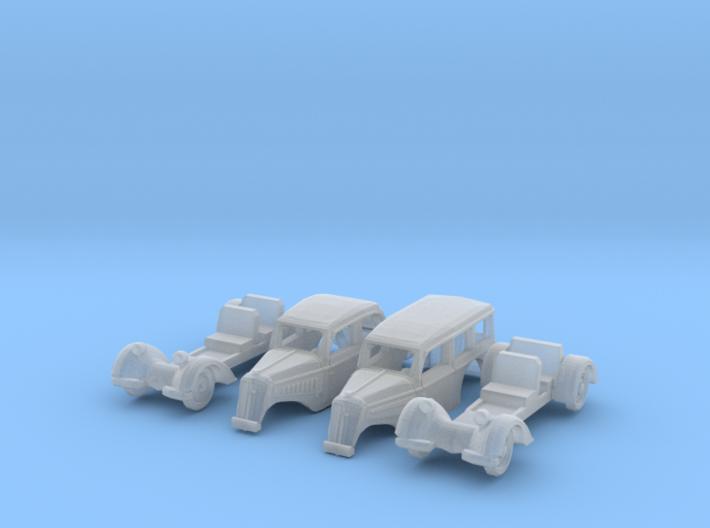 SET 2x IFA F8 (N 1:160) 3d printed