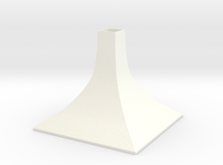 Squared Small Conical Vase 3d printed