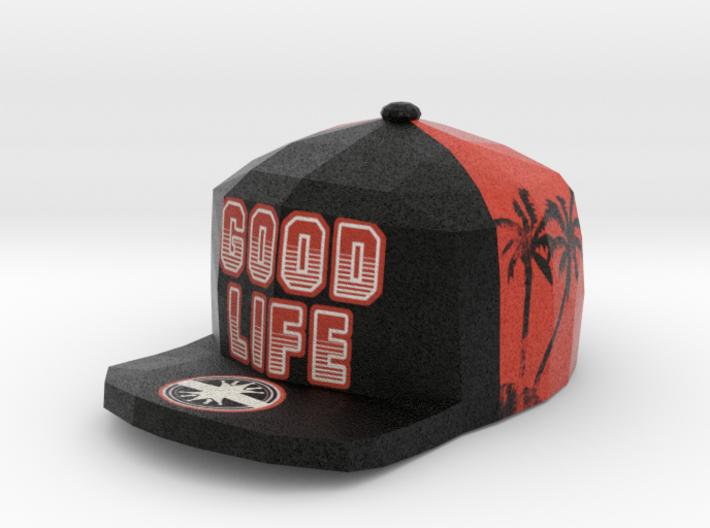 Good Life Sunset Pendant 3d printed