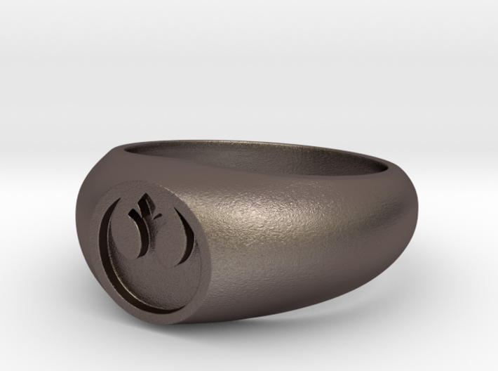 Rebel Alliance Ring (Size 10 1/4 - 20 mm) 3d printed