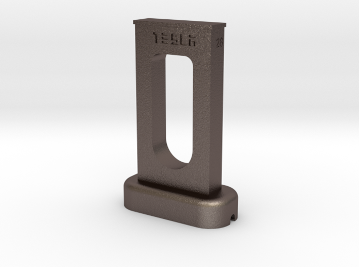 Tesla supercharger desk android phone charger 3d printed