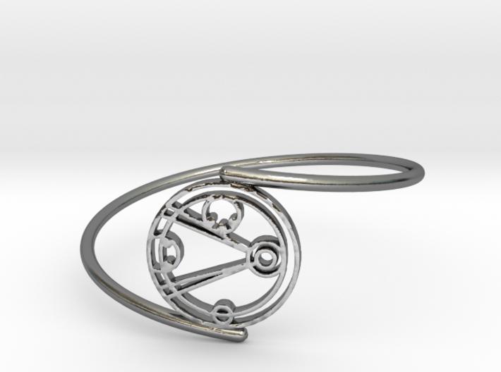 Emily - Bracelet Thin Spiral 3d printed