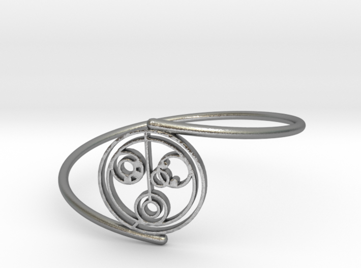 Nicole - Bracelet Thin Spiral 3d printed