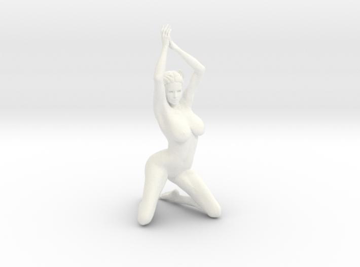 Kneeling nude girls in 10cm Passed 3d printed