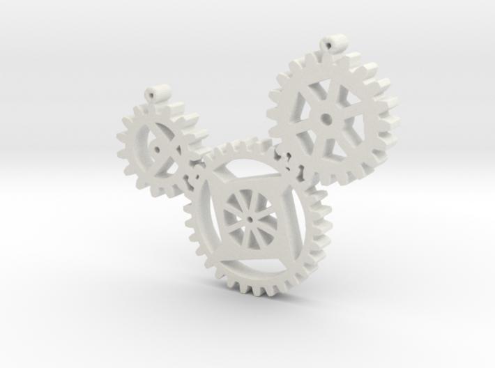 Steampunk gears 3d printed