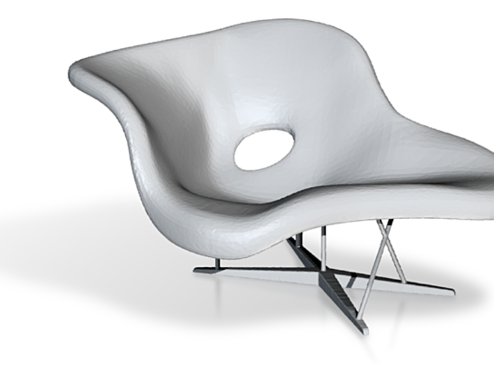 Strange Eames La Chaise 1 24 Ggmmzanwh By Simplybill Ibusinesslaw Wood Chair Design Ideas Ibusinesslaworg