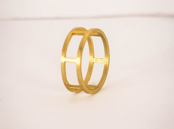 Simple Ring Size 6 3d printed