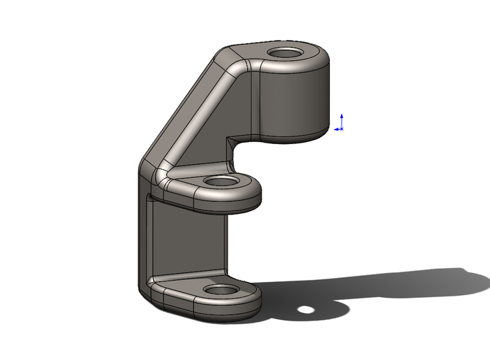 Clutch Foot Peg Lowering Bracket For KTM 390 Duke 3d printed Add a caption...