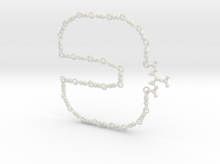 Nitroglycerin Necklace 3d printed