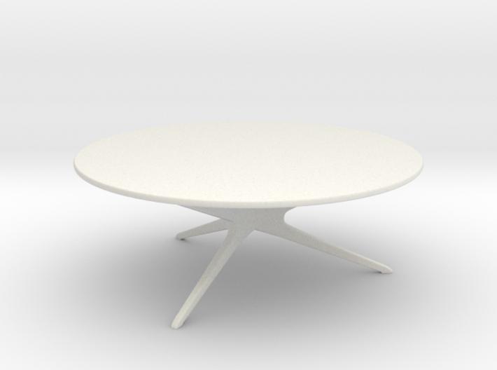 Phenomenal Mid Century Modern Round Coffee Table 1 24 Bralicious Painted Fabric Chair Ideas Braliciousco