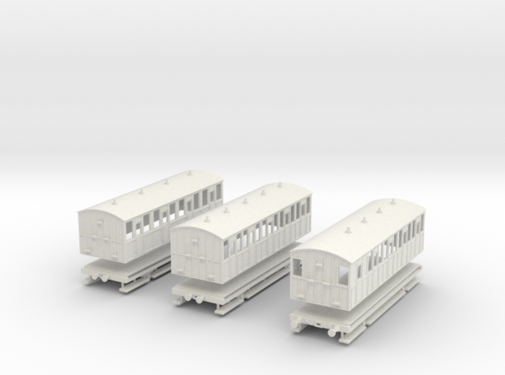 District Railway four wheelers 3d printed