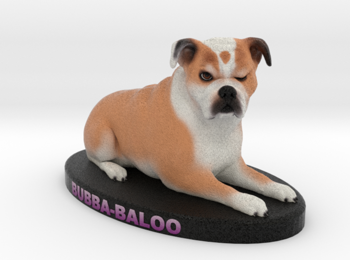 Custom Dog Figurine - Bubba 3d printed