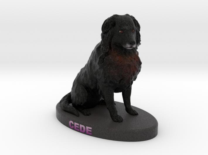 Custom Dog Figurine - Cede 3d printed
