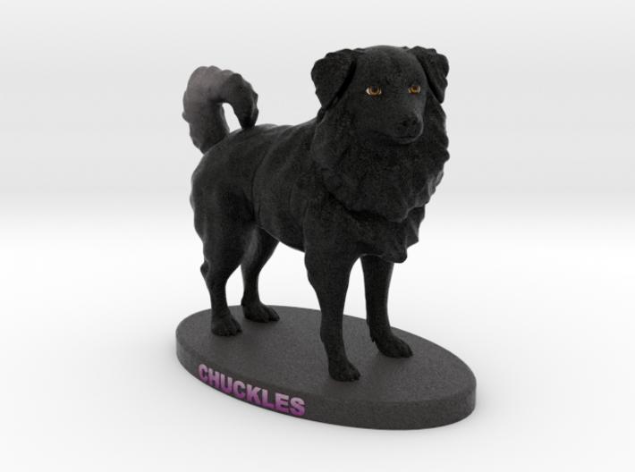 Custom Dog Figurine - Chuckles 3d printed