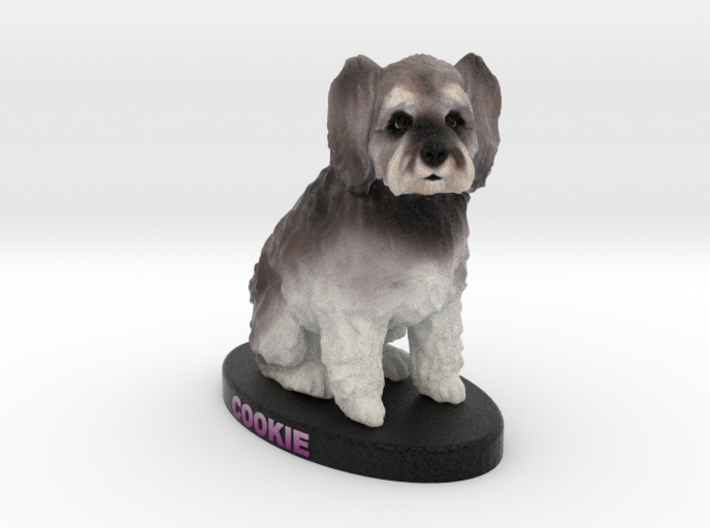 Custom Dog Figurine - Cookie 3d printed