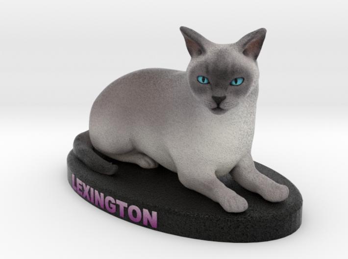 Custom Cat Figurine - Lexington 3d printed