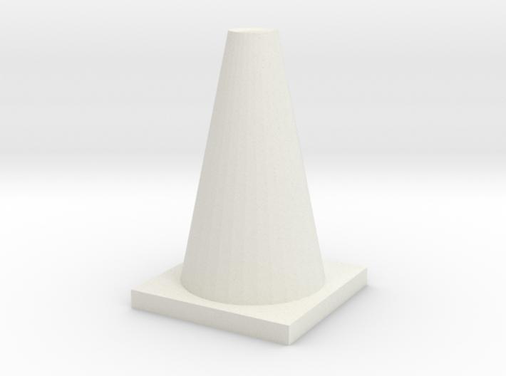 TrafficConeShapeways 3d printed