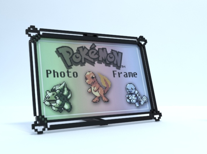 Pokemon Photo Frame (4x6) 3d printed