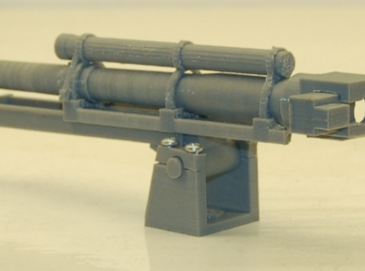 1/16 scale 105mm Howitzer 3d printed Test print on my my printer