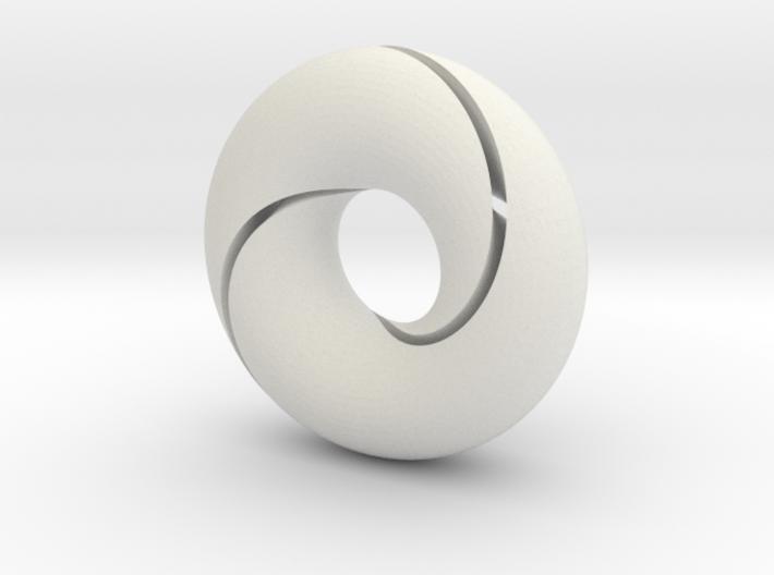 split torus 3d printed