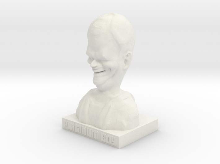 Sips – PLATINUM BOY statue 3d printed