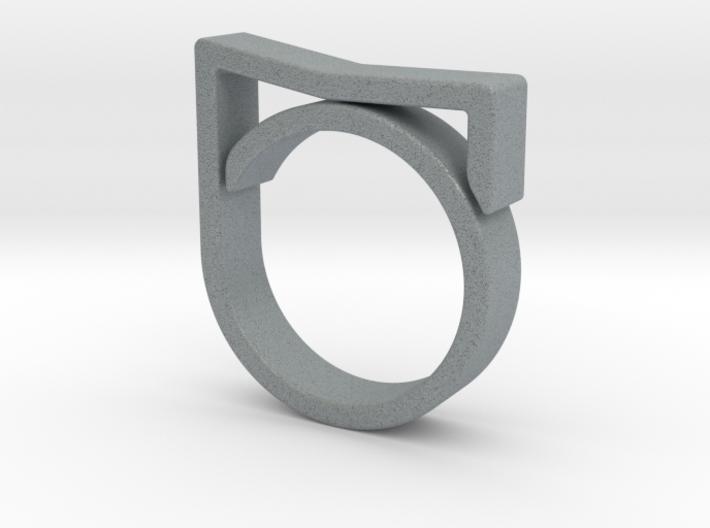 Adjustable ring for men. Model 7. 3d printed
