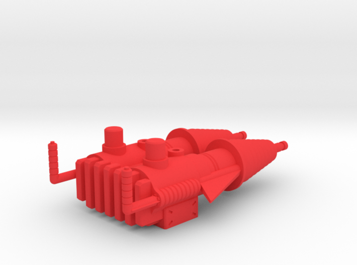 Castle Grayskull Prototype Turret Cannon 3d printed