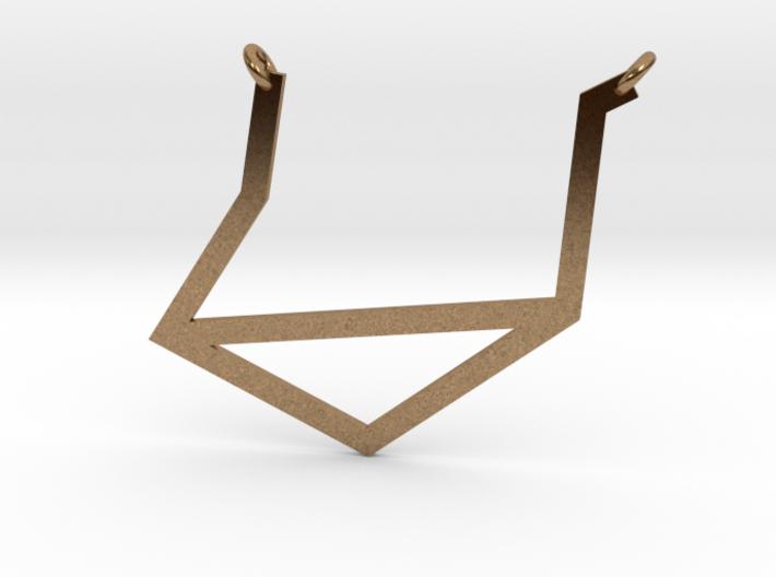Libra Pendant 3d printed