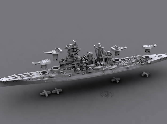 IJN BB Kongo[1944] 3d printed Computer software render