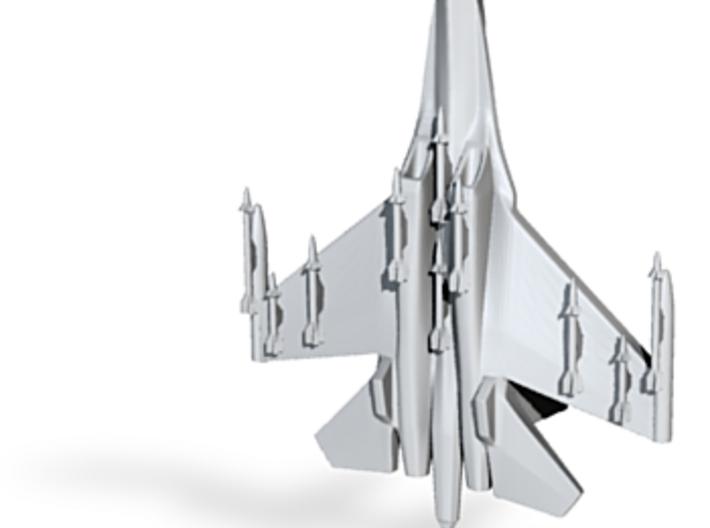 1/285 (6mm) SU-27 Flanker Ordnance & Missile Rails 3d printed