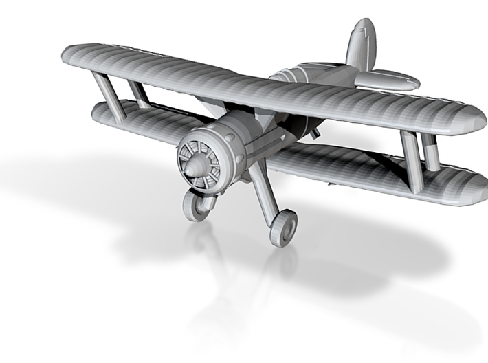 1/285 Gloster Gladiator 3d printed