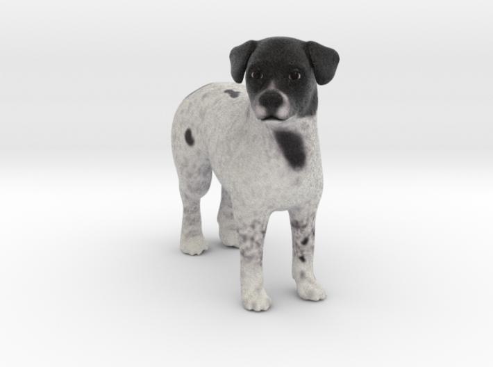 Custom Dog Figurine - Choco 3d printed