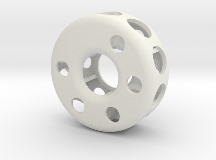 Hollow wheel 3d printed