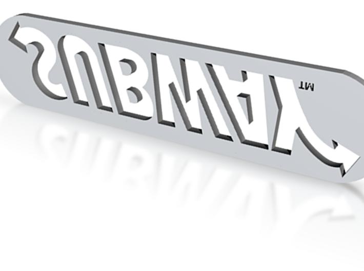 Subway Logo 3d printed
