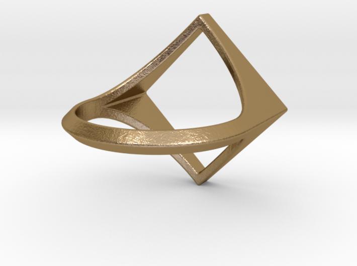 Square Ring - Sz5 3d printed