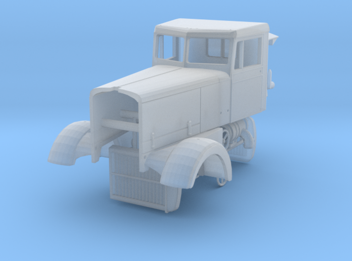 1/64th Interpretation of Peterbilt Long Hood Conve 3d printed