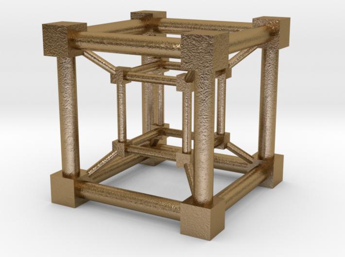 Teseract Cube 3d printed