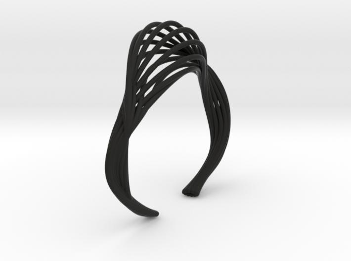 Liquid Tension* Bangle ( Small ) 3d printed