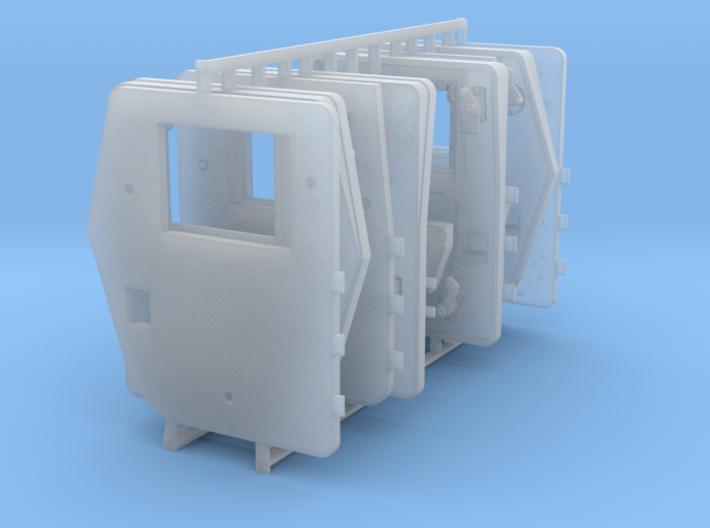 1/35 SPM-35-016 HMMWV armored doors 3d printed
