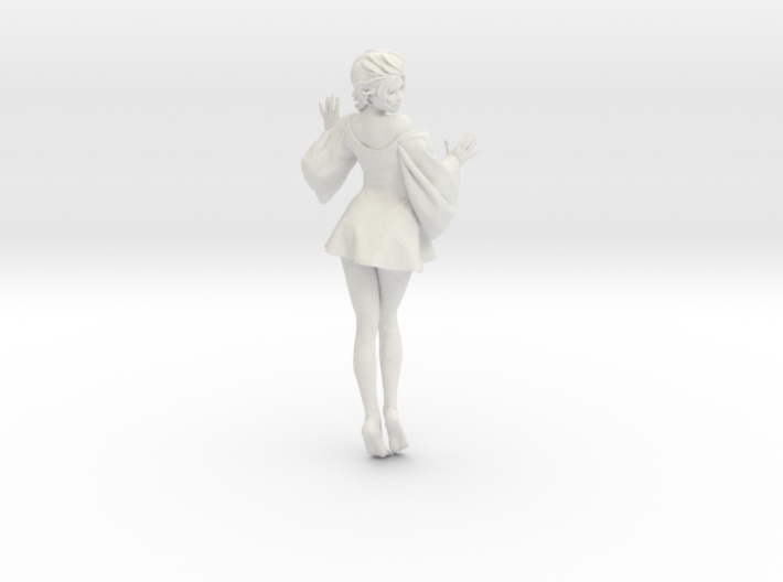 Skirt Girl-001 scale 1/10 3d printed