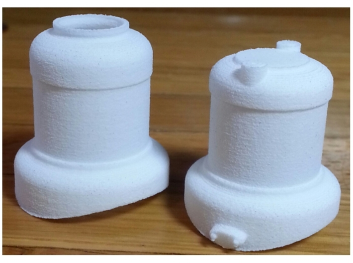 1:20 scale 0-4-0 Baldwin domes 3d printed