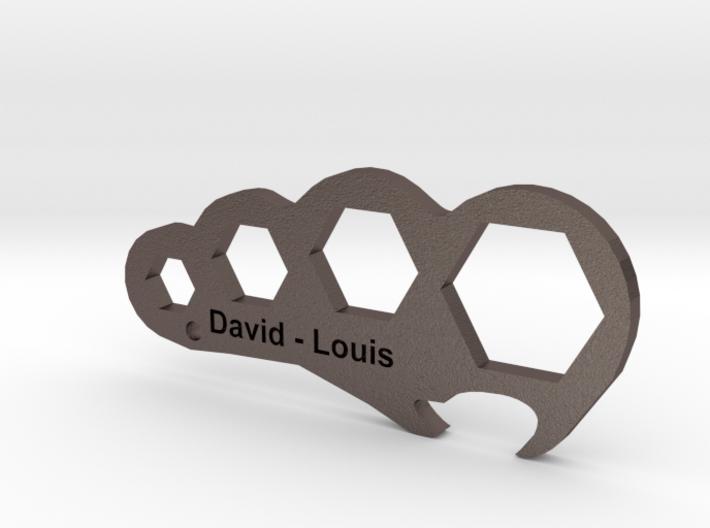The Locust Metamorphosis Bottle Opener and Spanner 3d printed
