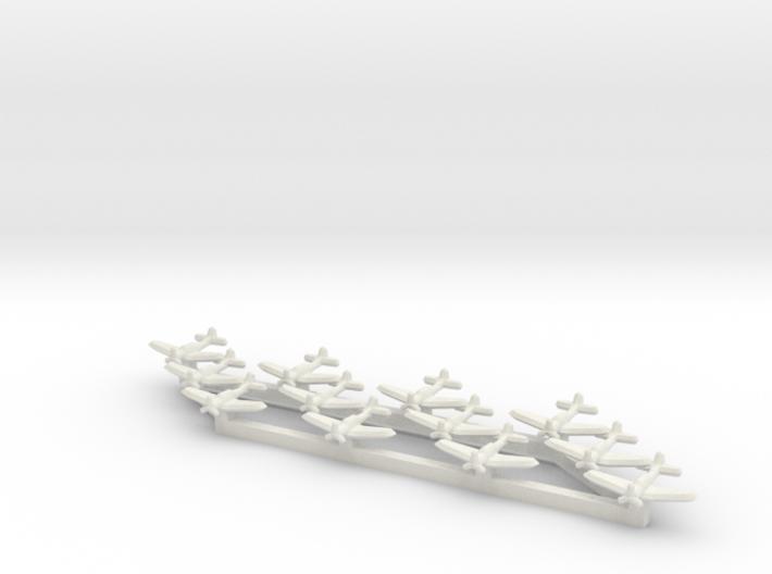 SBD-3 Dauntless (Triplet) 1/900 x4 3d printed