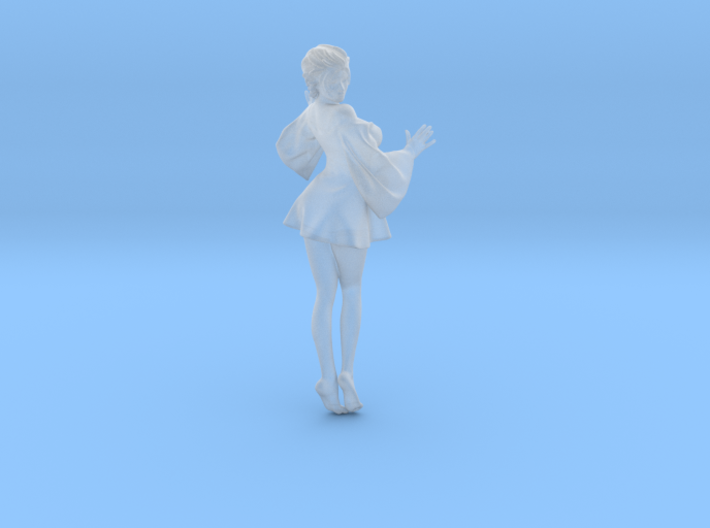 Skirt Girl-001-scale 1/32 3d printed