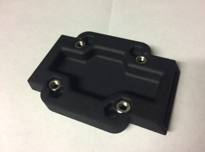 Cradle Adapter for Garmin Zumo 660 3d printed Backside