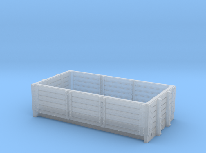 2mmFS S&DJR 5 plank open 3d printed